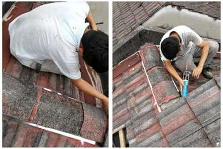 Roof Leaking Repair Specialist In Puchong Malaysia Roofing Man